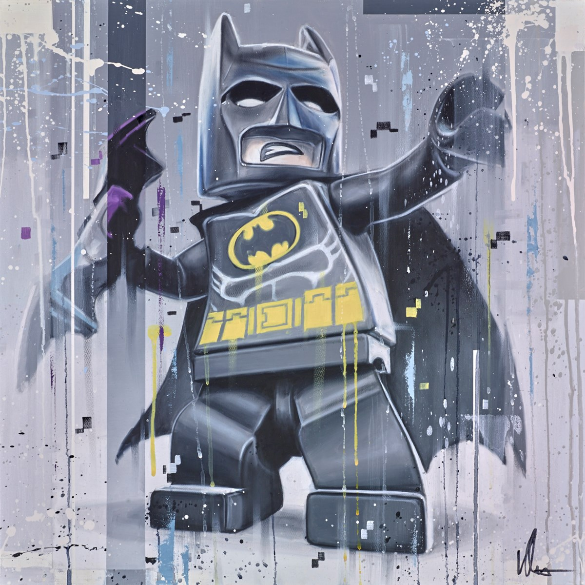 Everything is Awesome by kris hardy -  sized 24x24 inches. Available from Whitewall Galleries
